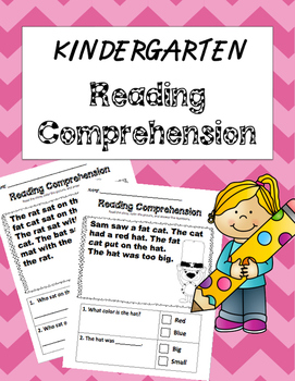 Kindergarten Reading Comprehension {Fiction}