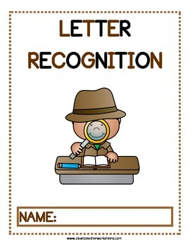 Letter Recognition Activities - Kindergarten to Grade 1 (1st Grade)
