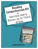 Horrible Harry Moves Up to Third Grade Reading Comprehension Kit