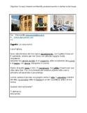 Italian Reading Comprehension: La Casa/L'appartamento / House & Home
