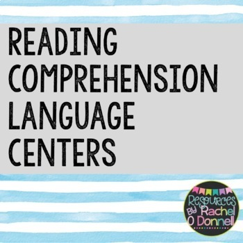 Reading Comprehension Language Centers