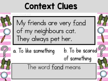 Reading Comprehension Language Centers FREEBIE