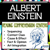 Reading Comprehension Learning Centers:  Albert Einstein