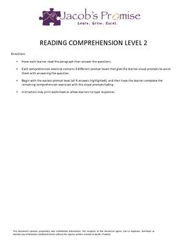 Reading Comprehension Level 2
