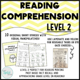 Reading Comprehension Level 2- Short Stories with Visuals