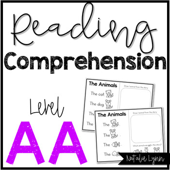Reading Comprehension Level AA
