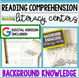 Reading Comprehension Center: Background Knowledge