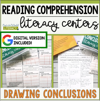 Reading Comprehension Literacy Center: Drawing Conclusions