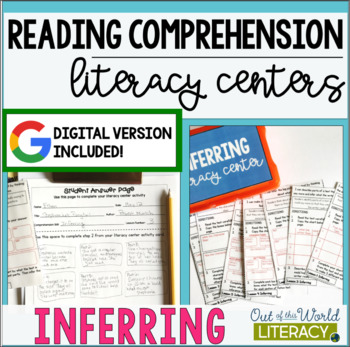 Reading Comprehension Literacy Center: Inferring