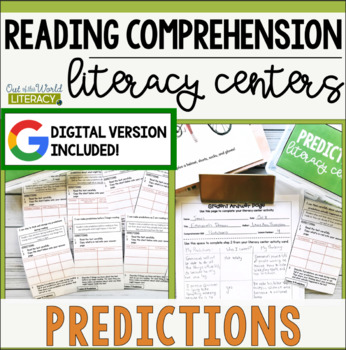 Reading Comprehension Literacy Center: Making Predictions
