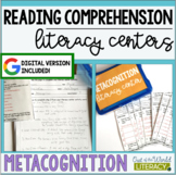Reading Comprehension Literacy Center: Metacognition