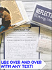 Reading Comprehension Literacy Center: Reflecting