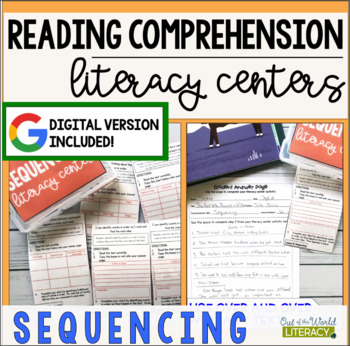 Reading Comprehension Literacy Center: Sequencing