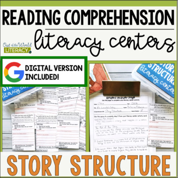 Reading Comprehension Literacy Center: Story Structure
