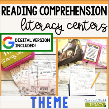 Reading Comprehension Literacy Center: Theme