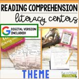 Reading Comprehension Literacy Center: Theme