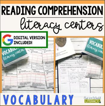 Reading Comprehension Literacy Center: Vocabulary