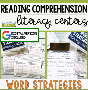 Reading Comprehension Literacy Center: Word Solving Strategies