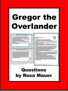 Gregor the Overlander Book Unit