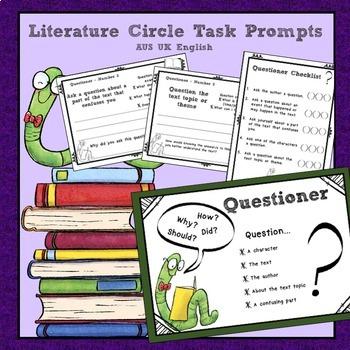 Reading Strategies Literature Circle Roles AUS UK