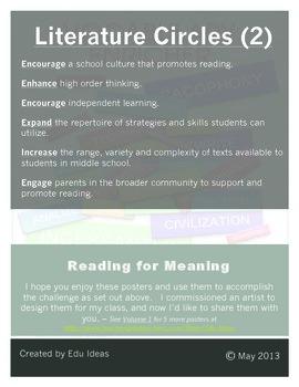 Reading Comprehension Literature Circles - Volume 2