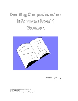 Reading Comprehension: Making Inferences