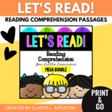 Reading Comprehension Mega Bundle