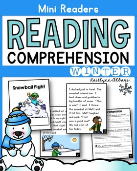 Reading Comprehension - Mini Readers for Winter
