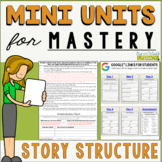Reading Mini Unit for Mastery- Story Structure | Distance