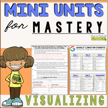 Reading Comprehension Mini Unit for Mastery- Visualizing