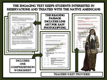 Reading Comprehension - Native Americans: Reservations and Treaties