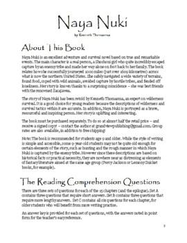 Reading Comprehension: Naya Nuki
