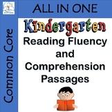 Kindergarten Reading Fluency and Comprehension Passages