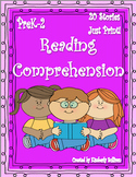 Sight Words Reading Comprehension Passages and questions No Prep