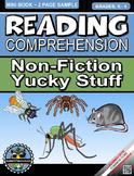 Reading Comprehension Non-Fiction Yucky Stuff Mini-Book Grades-K-4