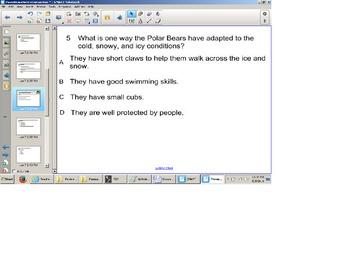 Reading Comprehension Nonfiction Senteo test, SOL Review,