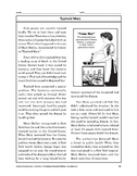 Reading Comprehension Nonfiction: Typhoid Mary
