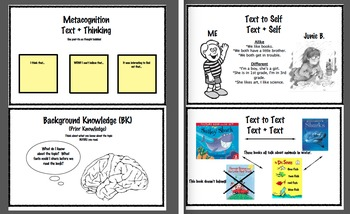 Reading Comprehension Notebook Student Posters