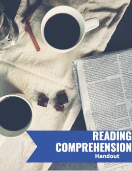 Notes for Reading Comprehension
