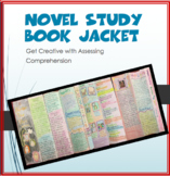 Reading Comprehension: Novel Study Book Jacket