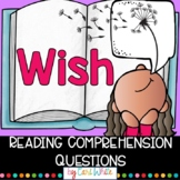 Reading Comprehension Novel Study | Wish by Barbara O'Connor