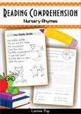 Reading Comprehension - Nursery Rhymes