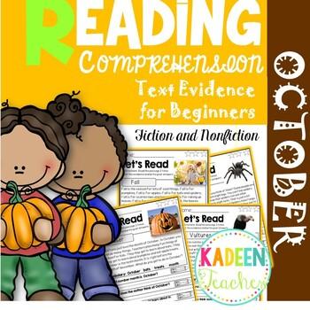 Reading Comprehension-October