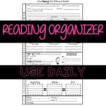 Reading Comprehension Organizer