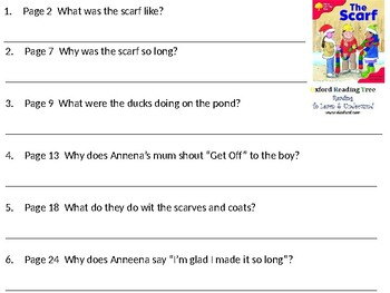 Reading Comprehension- Oxford Reading Tree Level 4 The Scarf