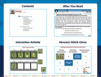 Reading Comprehension - PC Gr. 5-8