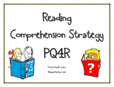 PQ4R Anchor Chart for Reading Comprehension Strategies