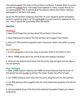 Reading Comprehension Pack - English Language