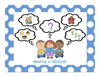 Reading Comprehension Pack: Reading is Thinking!