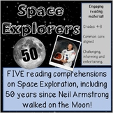 Reading passages -Space Explorers. DISTANCE LEARNING. Disc